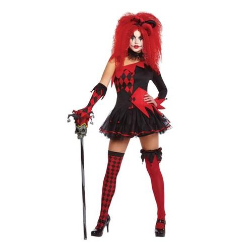 Women's Jesterina Halloween Costume - image 1 of 1