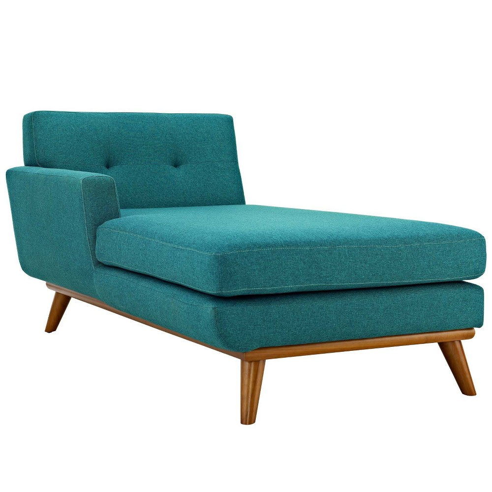 Engage RightArm Chaise Teal (Blue) - Modway