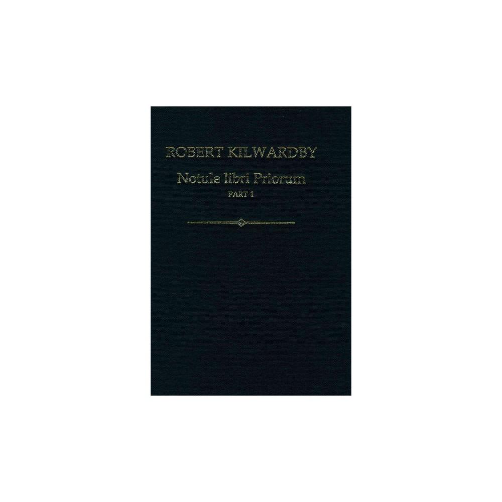 Robert Kilwardby, Notule Libri Priorum (Hardcover)