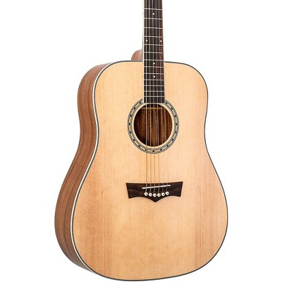 Peavey DW-2 Dreadnought Acoustic Guitar Natural