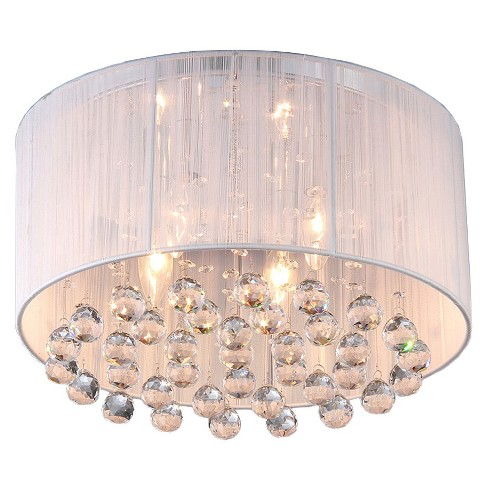 Warehouse Of Tiffany Chandelier Ceiling Lights -White : Target