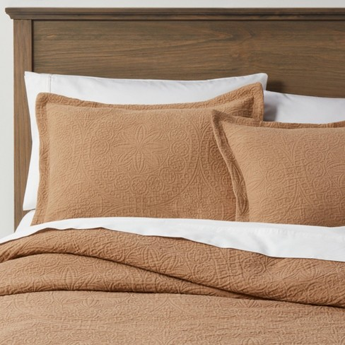 Matelasse Medallion Comforter & Sham Set - Threshold™ - image 1 of 4