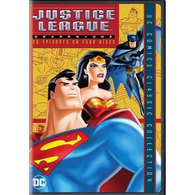 Justice League: Season One (DVD)