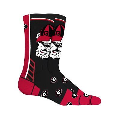 NCAA Georgia Bulldogs Tailgate Crew Socks 10-13