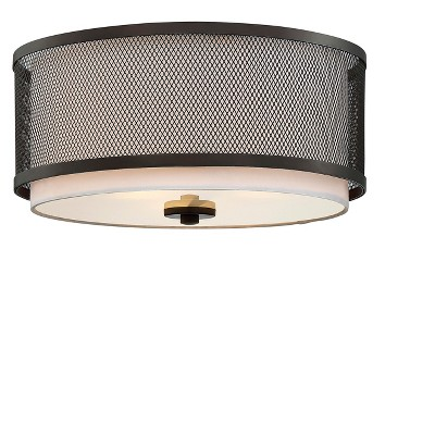 Ceiling Lights Flush Mount Oil Rubbed Bronze - Aurora Lighting