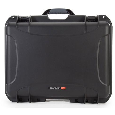 Orange Nanuk 920 Waterproof Hard Case with Foam Insert
