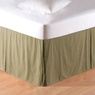 C&F Home Mini Green Plaid Bed Skirt