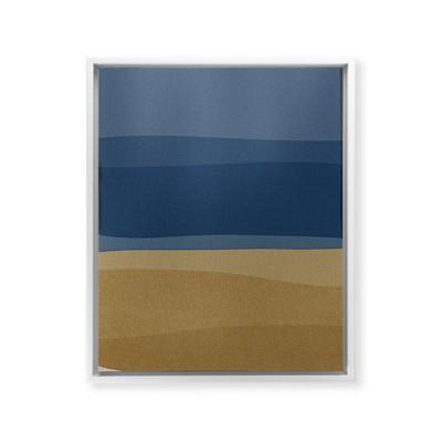 Orara Studio Modern Framed Art Canvas White - Deny Designs