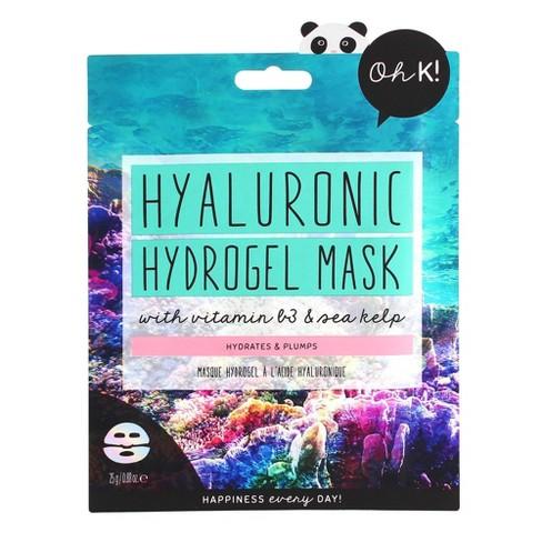 Oh K! Hyaluronic Acid Hydrogel Mask - 0.88 fl oz - image 1 of 4