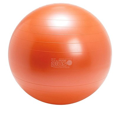 Gymnic Ball Plus 65 Fitness, Exercise and Therapy Ball - Orange