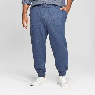 Men's Tall Tapered Knit Jogger Pants - Goodfellow & Co™ Federal Blue LT