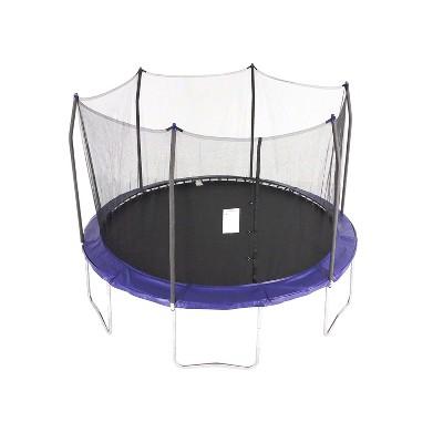 Skywalker Trampolines 12 Feet Round Trampoline with Enclosure - Blue