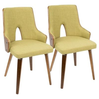 Superieur Stella Mid Century Modern Dining Chair  Set Of 2 LumiSource