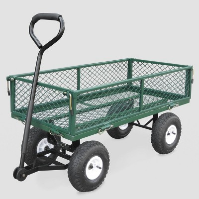 38  Garden Steel Cart Green - Bond