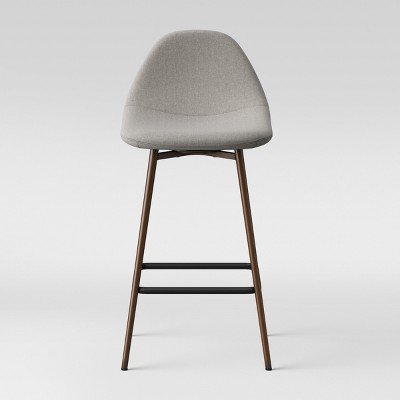 Copley Upholstered Counter Stool - Light Gray - Project 62™