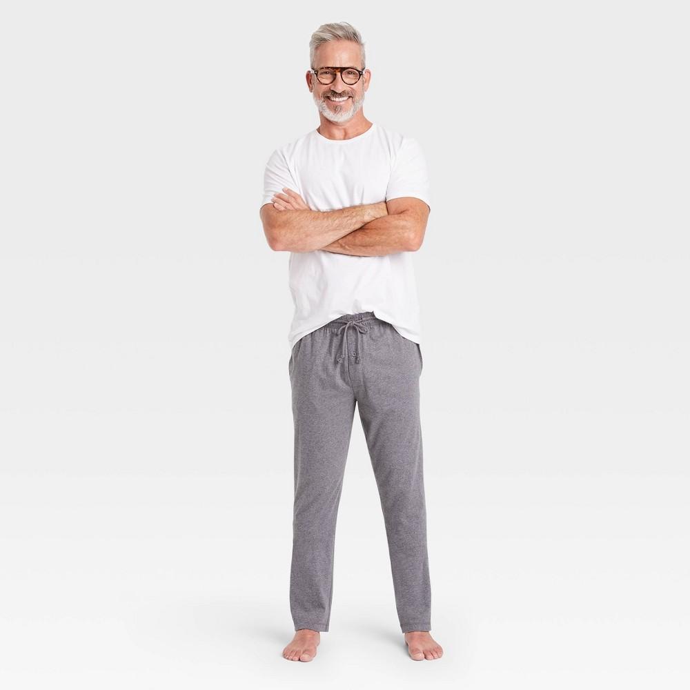 Men 39 S Knit Pajama Set Goodfellow 38 Co 8482 True White M