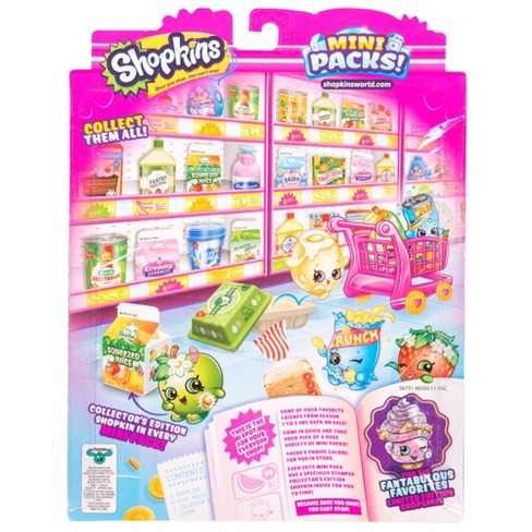 shopkins mini pack collector s pack target