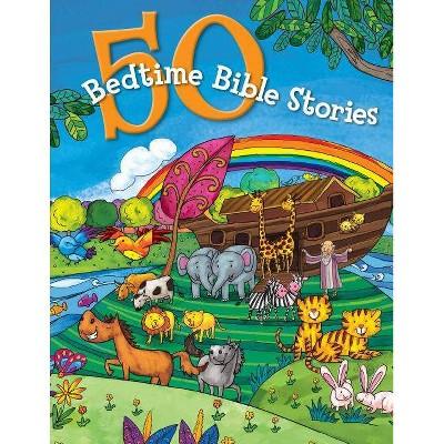 50 Bedtime Bible Stories - (Hardcover)