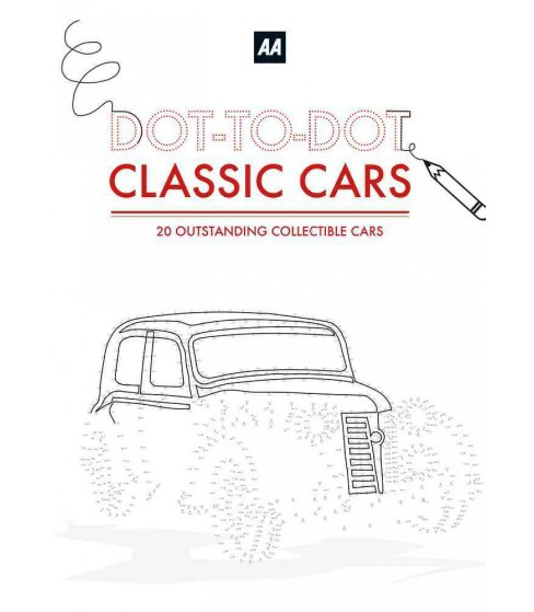 Dot-To-Dot Classic Cars : 20 Outstanding Collectible Cars (Paperback) (Simon Ecob) - image 1 of 1