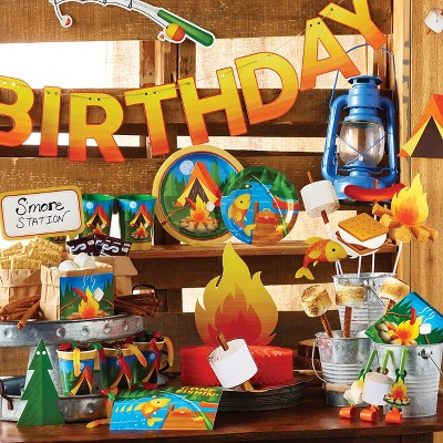 Camping Birthday Party Supplies Collection Target