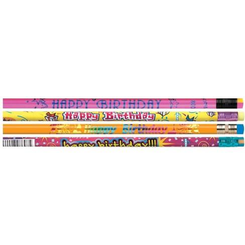 Moon Products Happy Birthday Award Pencils, set of 144 - image 1 of 1
