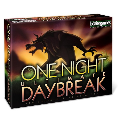 One Night Ultimate Werewolf Daybreak Game - image 1 of 4