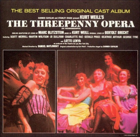 Original cast - Threepenny opera (Ocr) (CD) - image 1 of 1