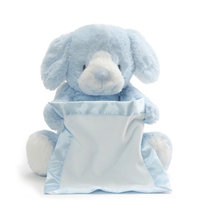 GUND Peek-A-Boo Puppy - Blue
