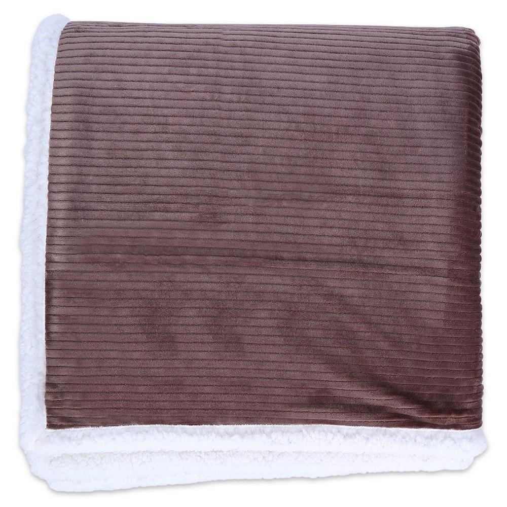 Image of Bed Blankets Better Living Full/Queen Mocha Brown Vanilla, Mocha Latte