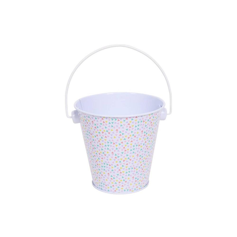 Image of 1ct Metal Pail Confetti White - Spritz