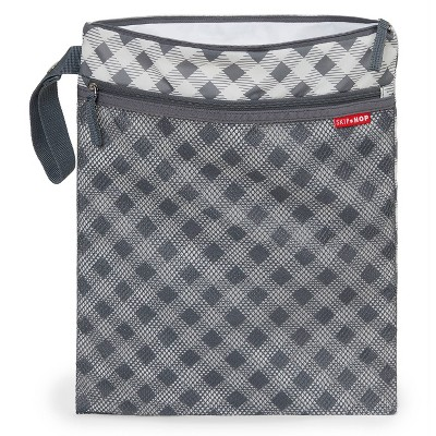 Skip Hop Grab & Go Wet/Dry Bag - Gingham