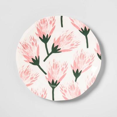 8.9  Melamine Floral Salad Plate Pink - Opalhouse™