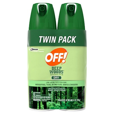 OFF!® Deep Woods - 2pk, 8 fl oz