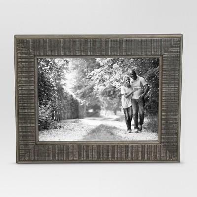 Textured Gray Single Image Frame 5x7 - Threshold™