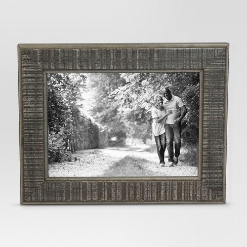 Textured Gray Single Image Frame 5x7 - Threshold™ - image 1 of 4