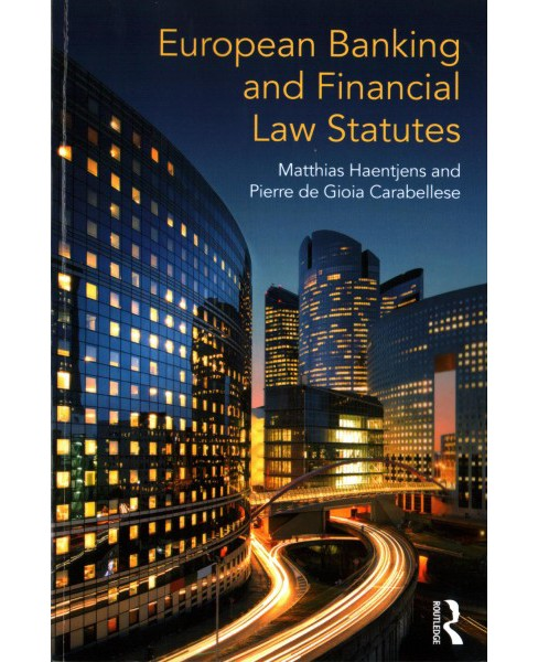 European Banking and Financial Law Statutes -  (Paperback) - image 1 of 1