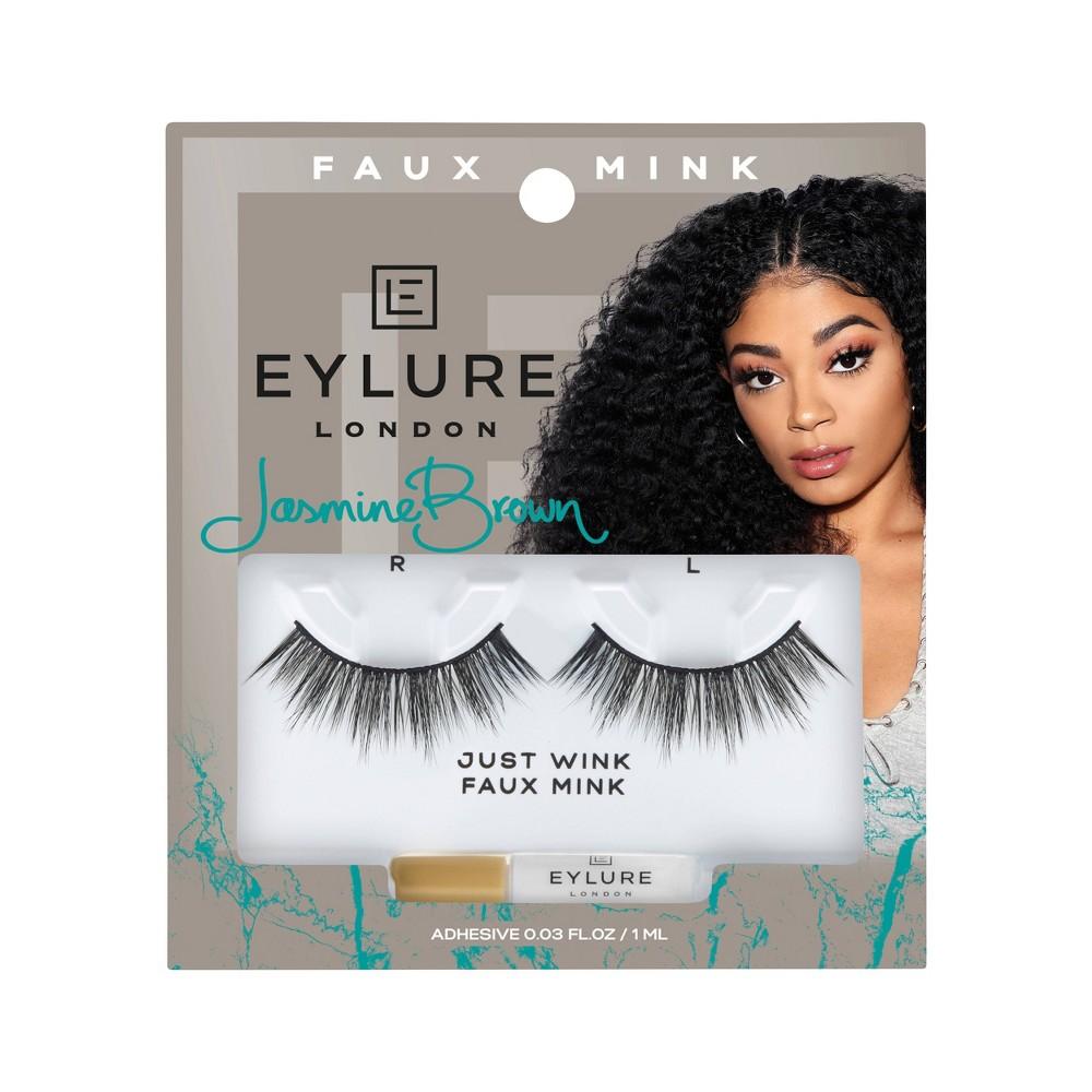 Image of Eylure False Eyelashes Jasmine JustWink Mink - 1pr
