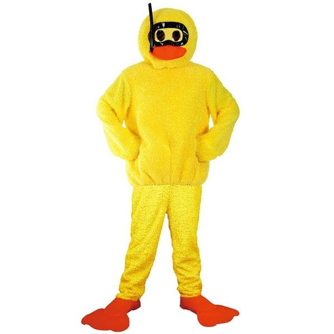 Angels Costumes Yellow Bath Duck Adult Costume - image 1 of 1