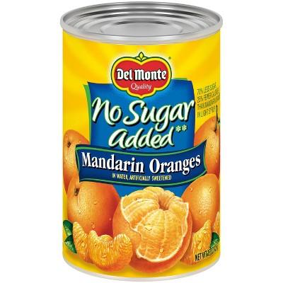 Del Monte No Sugar Added Mandarin Oranges in Water 15oz