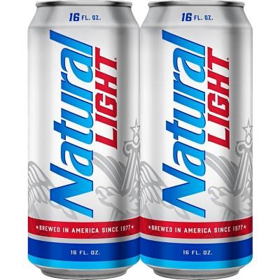 Natural Light Beer - 4pk/16 fl oz Cans
