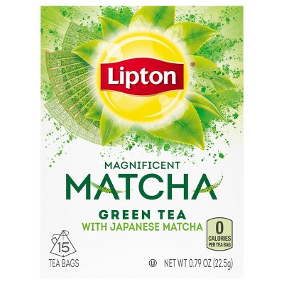 Lipton Green Pure Matcha Tea Bags - 15ct
