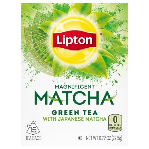 Lipton Green Pure Matcha Tea Bags - 15ct - image 1 of 4