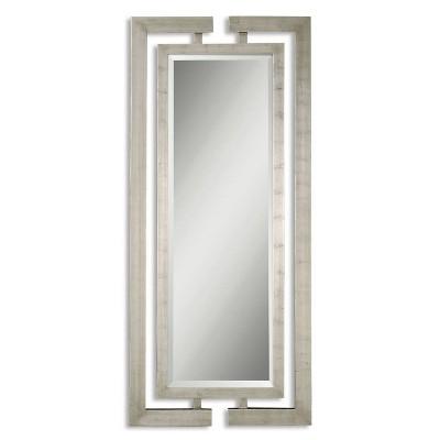 Rectangle Jamal Decorative Wall Mirror Silver - Uttermost