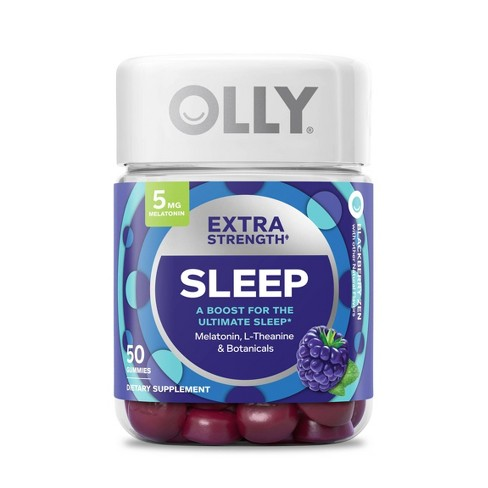 Olly Extra Strength Sleep Gummy Supplement 50ct Target