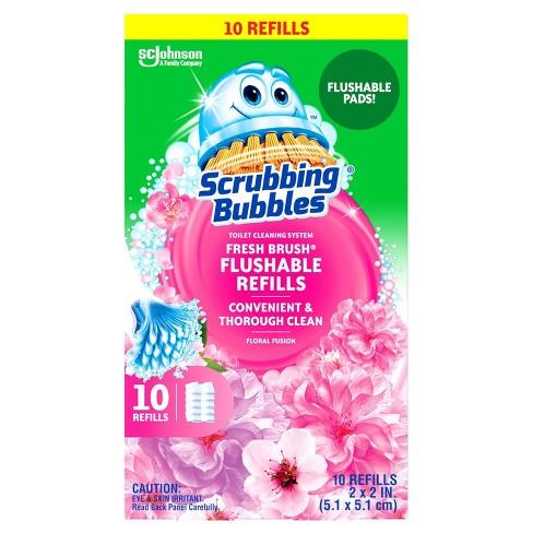Scrubbing Bubbles Freshbrush Flushable Refill Floral Fusion - image 1 of 4