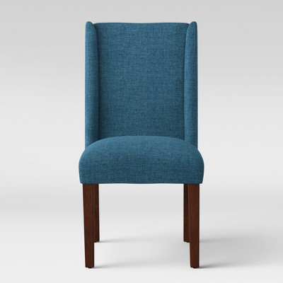 Lowell Modified Wingback Dining Chair Navy - Fully Assembled - Threshold™