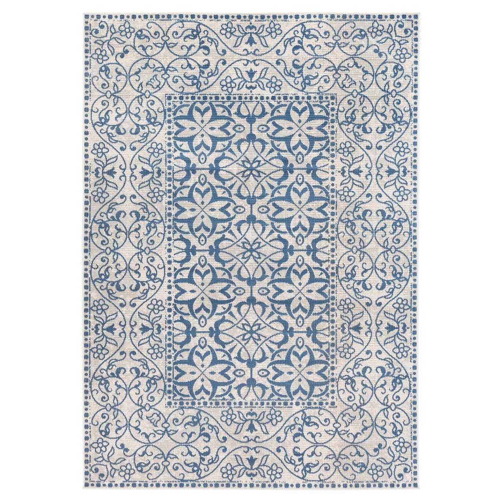 Surya Zait Area Rug - Blue (7'10