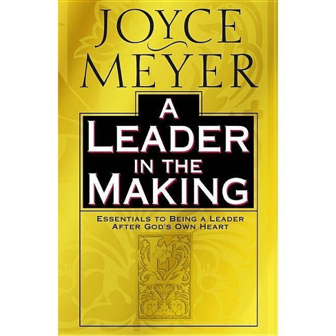 A Leader in the Making - by  Joyce Meyer (Hardcover) - image 1 of 1