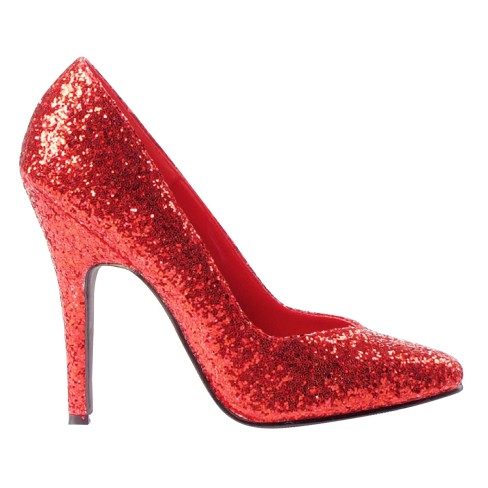 Women s Red Glitter Costume Pumps   Target c8a351e8f