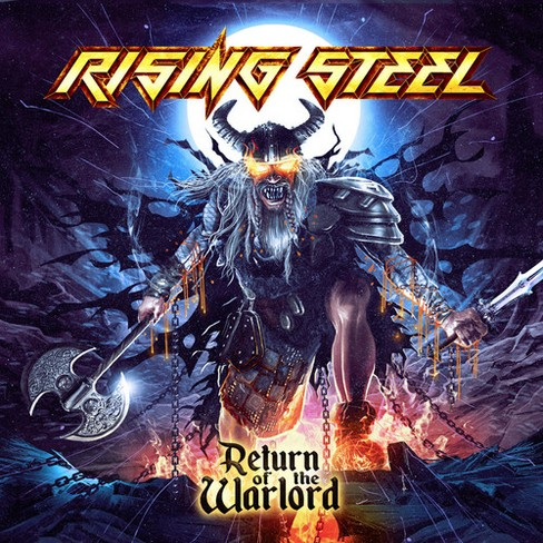 Rising Steel - Return Of The Warlord (CD) - image 1 of 1